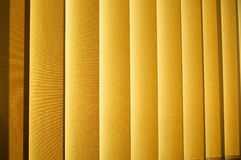Window blinds. Vertical made of textile, abstract shot stock photo