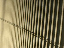 Window blinds. Abstract view of Venetian window blinds Stock Images