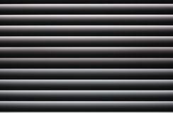 Window blinds. Horizontal window blinds with parallel symmetry royalty free stock photography