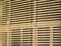 Window blinds. Architecture detail shot stock photography