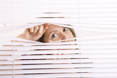 Window blinds Stock Photos