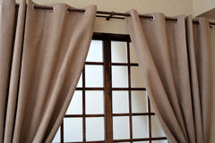 Window blinds.  Royalty Free Stock Images