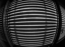 Window blinds in black and white Royalty Free Stock Photo