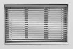 Window with blinds Royalty Free Stock Image
