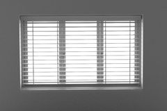 Window with blinds Stock Photo