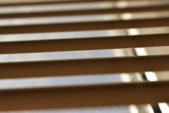 Window blinds, half open. royalty free stock images