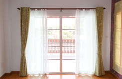 Window with blinds interior Stock Image