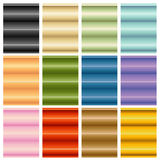 Window Blinds Shades Set Royalty Free Stock Photography