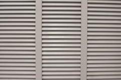 Window blinds shades. White window blinds shades sun shading device Stock Image