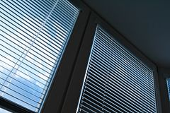 Window blinds for sun protection Royalty Free Stock Photography
