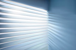 Window with blinds. Vector illustration. Stock Image