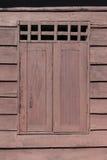 Window blockhouse Stock Photos