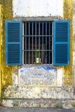Window Blue Shutters Royalty Free Stock Photo