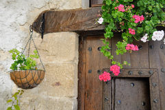 Window Box in a country house Royalty Free Stock Images