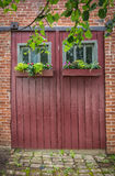 Window Boxes royalty free stock image