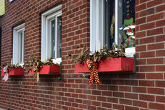Window boxes Royalty Free Stock Images