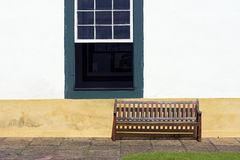 Window in Brazilian colonial style Royalty Free Stock Photos