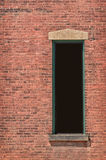 Window in Brick Building Royalty Free Stock Photo
