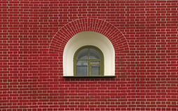Window on a brick wall Stock Photography