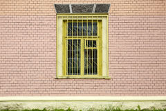 Window on a brick wall Stock Images