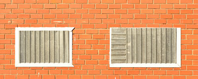 Window brick wall Royalty Free Stock Photography