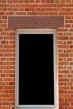 Window on brick wall Stock Photos