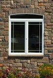 Window on Brick Wall Stock Photography