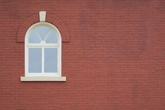 Window and Brick Wall stock photography