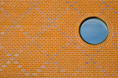 Window in Brick Wall. This is a Window in Brick Wall Stock Photography