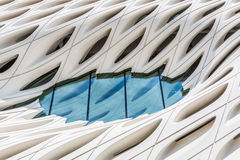 Window of The Broad Museum in Los Angeles, Califorina Stock Images