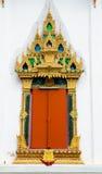 Window of buddha church Stock Photos