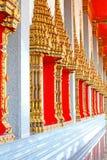 Window of buddhis church Stock Photo
