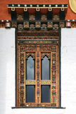 Window - Buddhist temple - Bhutan Royalty Free Stock Photography