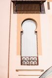Window on the building in Arabic style.  Stock Photos