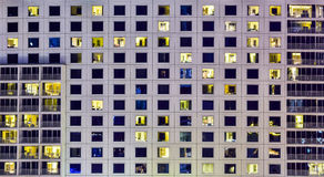 Window of building open light for background, texture Royalty Free Stock Photography