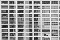 Window building pattern Royalty Free Stock Image