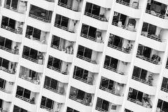 Window building pattern Royalty Free Stock Photography