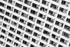 Window building pattern Stock Photography