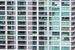 Window building pattern Royalty Free Stock Images