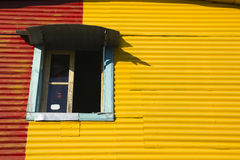 Window of builfing, La Boca Royalty Free Stock Photography