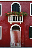 Window, Burano, Italy Royalty Free Stock Photography
