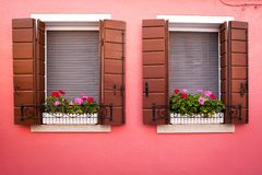 Window from Burano Stock Images