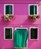 Window from Burano Stock Image