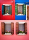 Window from Burano Stock Photos