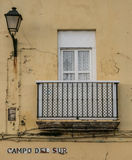 Window Cadiz Royalty Free Stock Image
