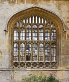 Window at Cambridge University Royalty Free Stock Photos