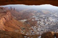 Window in Canyonlands National Park, Utah, USA Royalty Free Stock Image