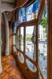 Window of Casa Batllo Royalty Free Stock Photos