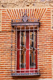 Window Casa de Cisneros Plaza de la Villa Madrid Spain Stock Photos