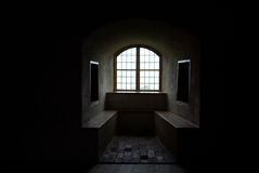 Window of Castle royalty free stock photography